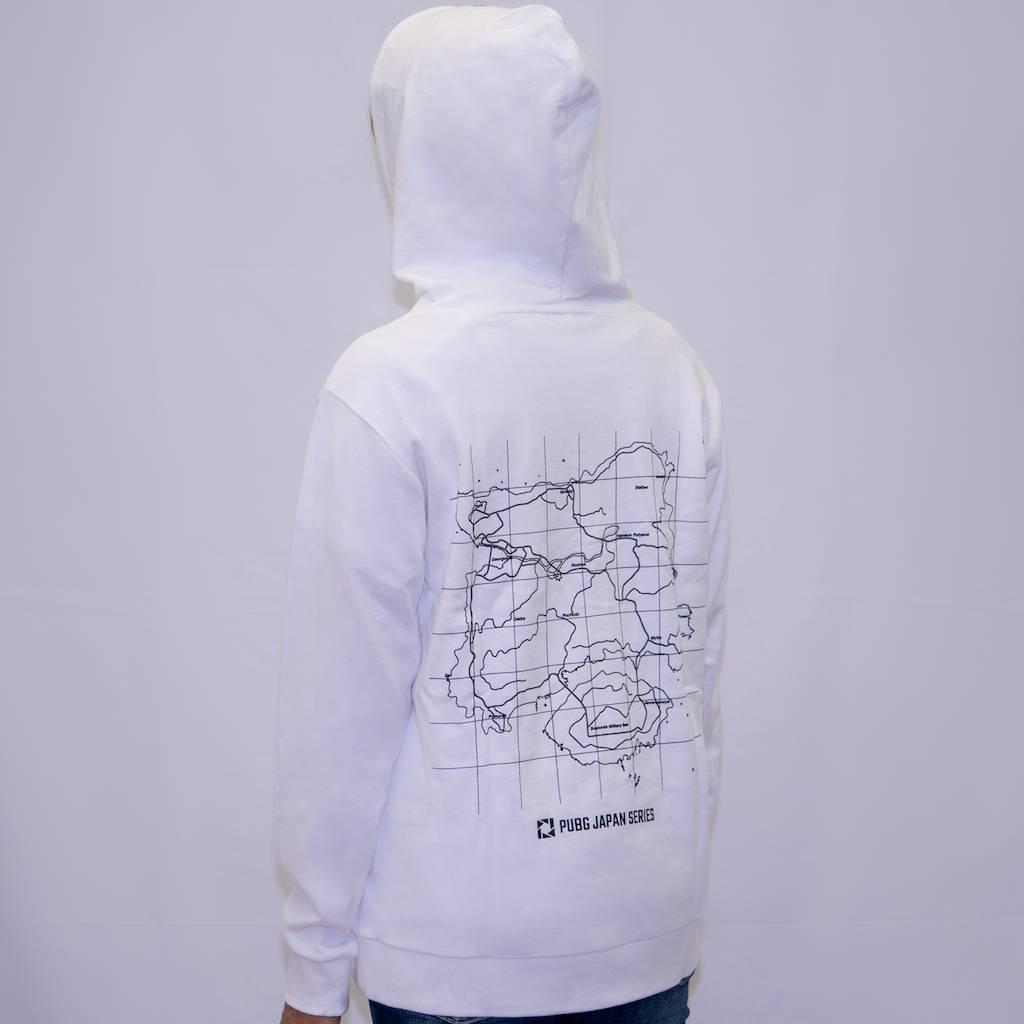 pubg Find The Drop Point Hoodie White フード
