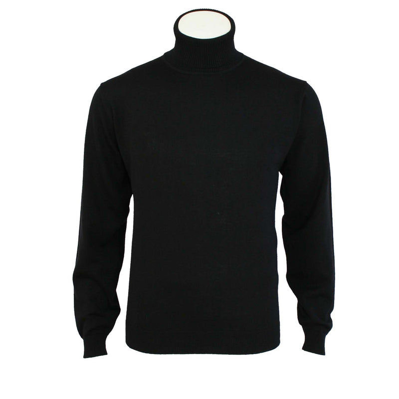 Fine Merino Wool Roll Neck