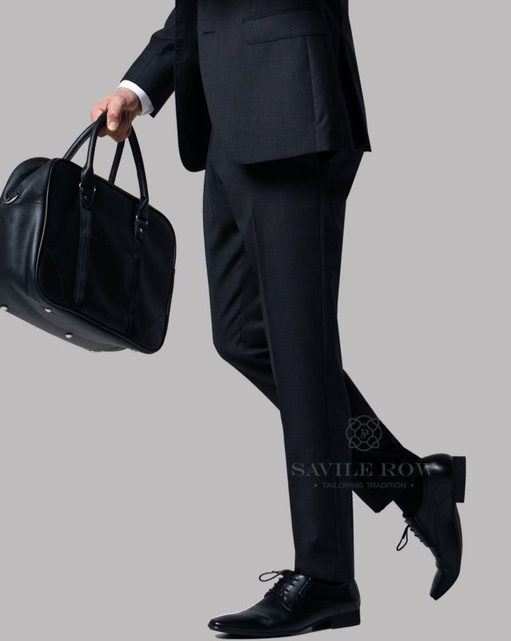 Savile Row Charcoal Suit Trousers