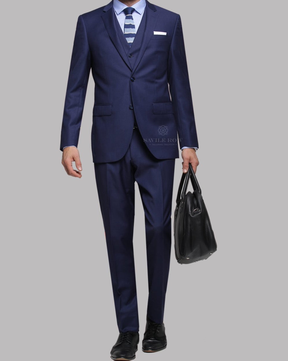 Savile Row Cobalt Suit Jacket