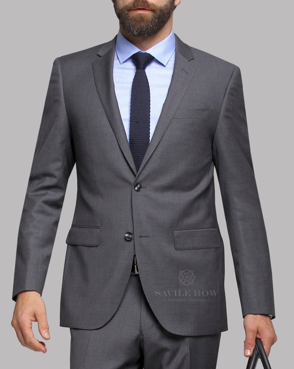 Savile Row Grey Suit Jacket