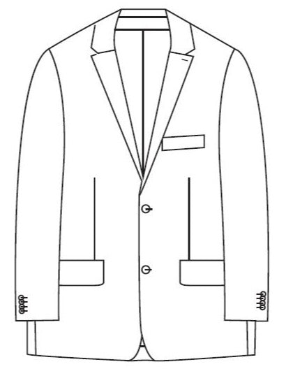 Savile Row Marine Suit Jacket