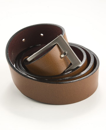 Leather Belt - Pierre Cardin - PC Crew 35mm