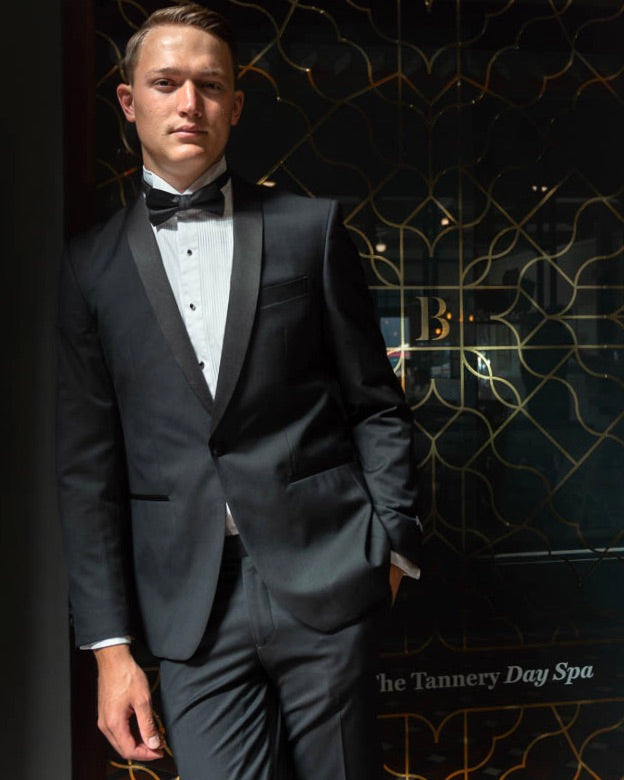 SCHOOL BALL - Boston Black Dinner Suit Jacket