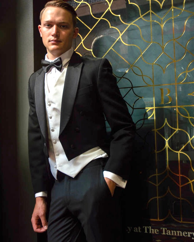 BLACK TIE HIRE - Evening Tails Suit Jacket
