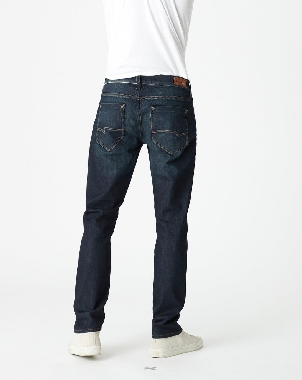Marcus Slim Straight Jean - Deep Brushed