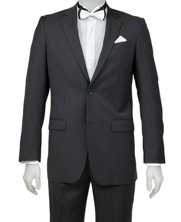 BLACK TIE - Cambridge Classic Black Suit Trousers