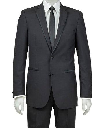 SCHOOL BALL -  Vedette Black Suit Jacket