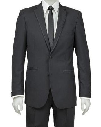 Black Tie Suit Hire - Munns Premium Vedette Black Suit