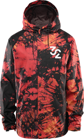 ThirtyTwo GRASSER JACKET 2020 - RED/BLACK