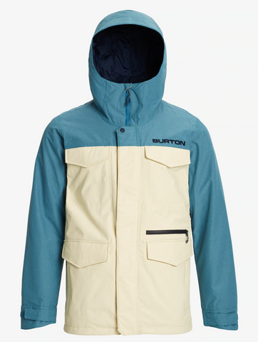 BURTON COVERT 2020 - Almond Milk / Storm Blue