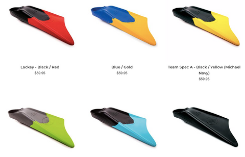 LIMITED EDITION Fins - All Colours