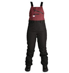 Ride Emerald Bib'n'Brace - Black/Burgundy