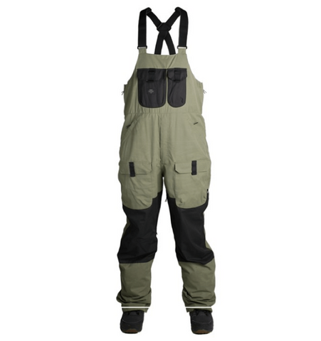 Ride Central Bib'n'Brace - Olive/Black