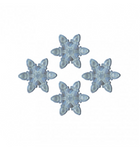 Anticorp Small Snow Flake Grips 6pc - Clear