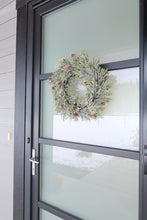 Load image into Gallery viewer, Faux Pine Winter Wreath