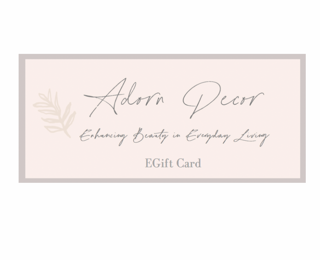 Adorn Decor EGift Card