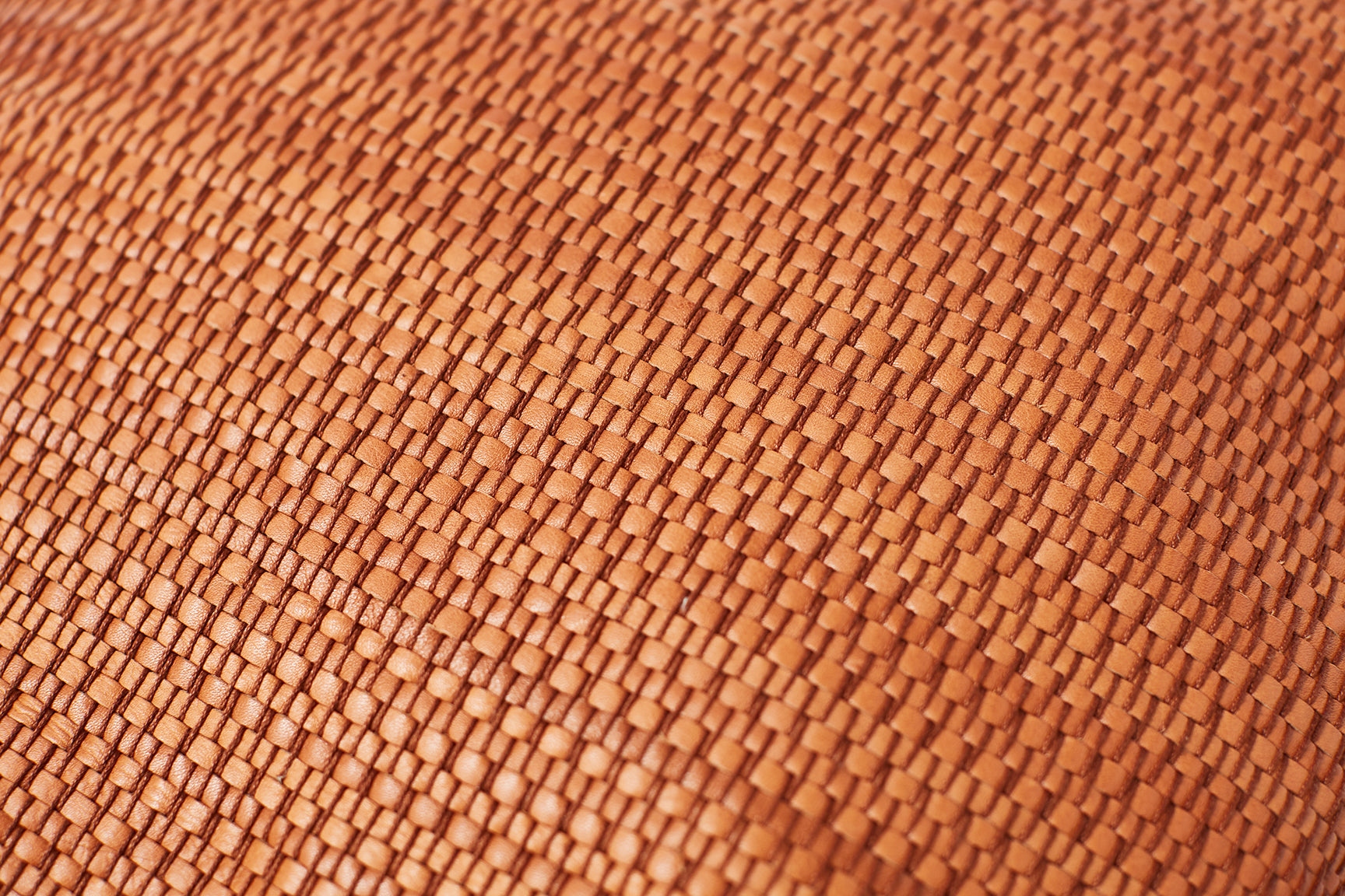 BACKPACK – tan woven leather