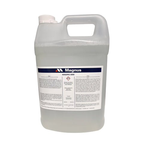 MagSpec 6000 : surface cleaner and sanitizer, 4 x 4L case