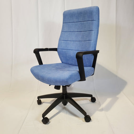 Copy of CLOSEOUT Global Luray High Back Chair - Duckys Office Furniture