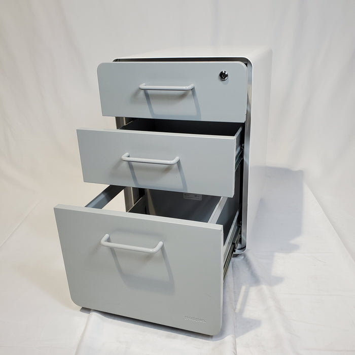 Pre-Owned Poppin Stow Pedestal Files - Duckys Office Furniture