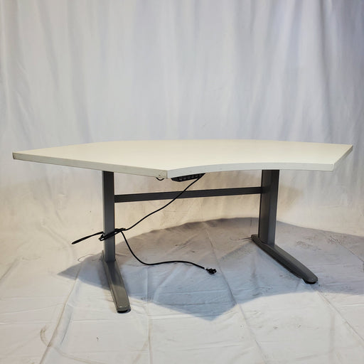 Used Electric Height Adjustable Desk Corner - Duckys Office Furniture