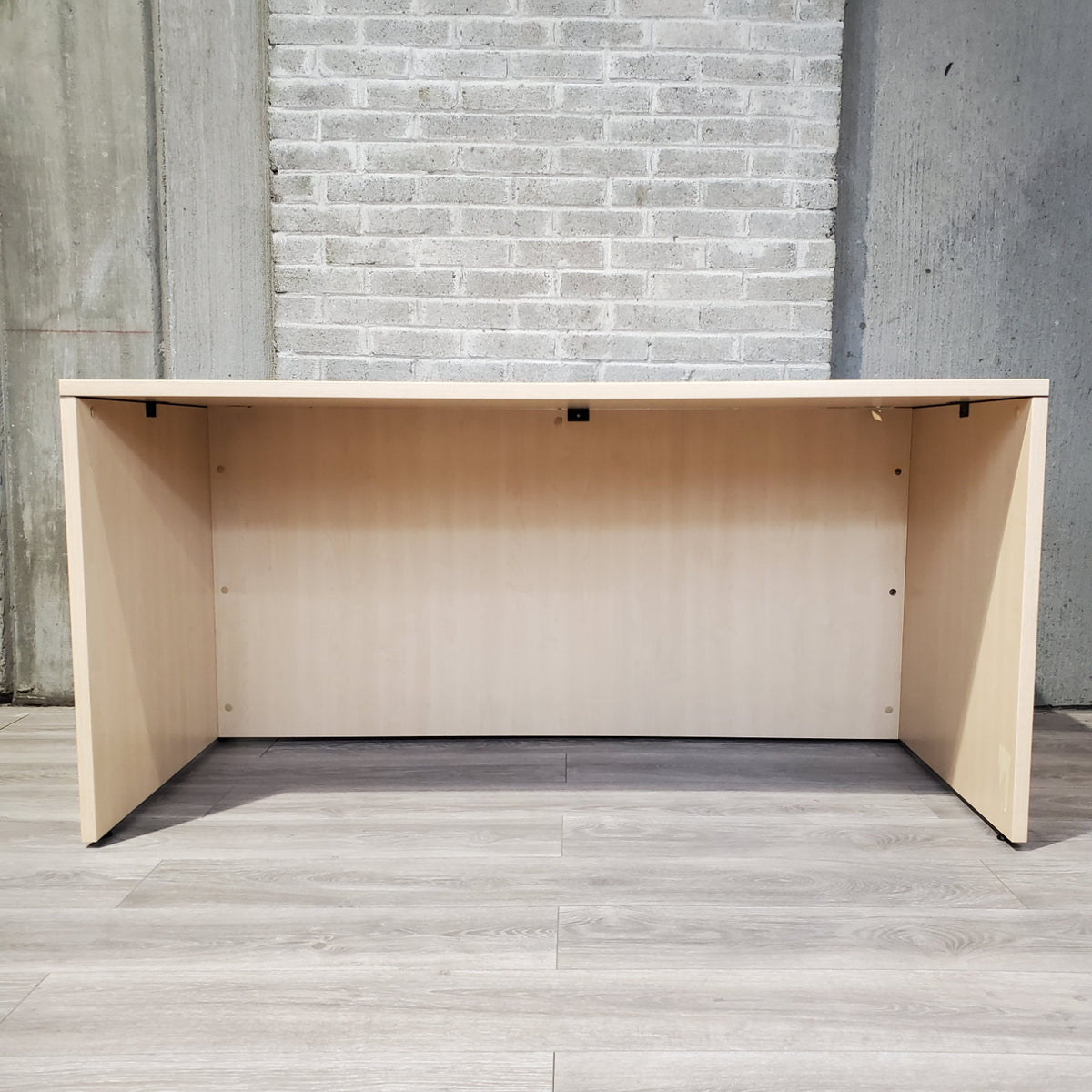 Pre-Owned - Used Maple Laminate Desk, two sizes - Duckys Office Furniture