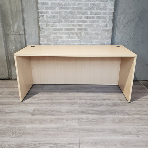 Used Maple Laminate Desk, two sizes - Duckys Office Furniture