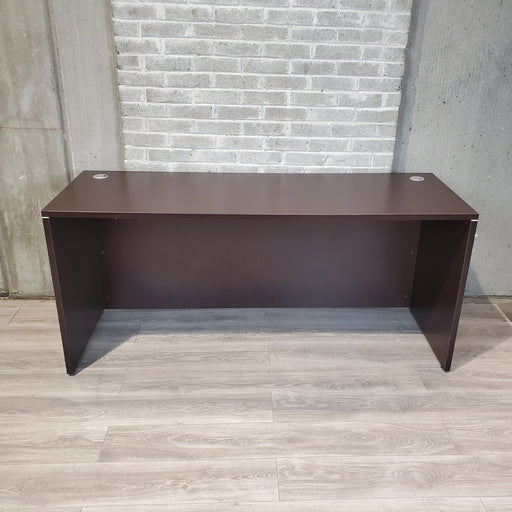 Used Espresso Laminate Desk or Credenza - Duckys Office Furniture