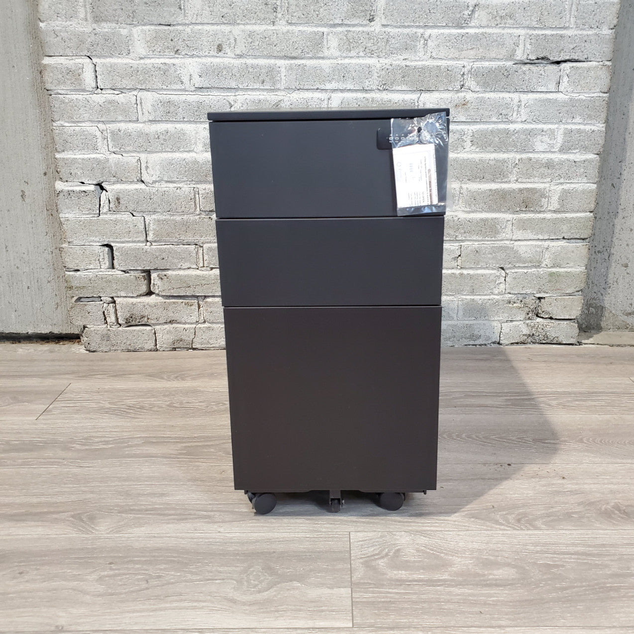 Used Mini Mobile Pedestal File Cabinet - Duckys Office Furniture