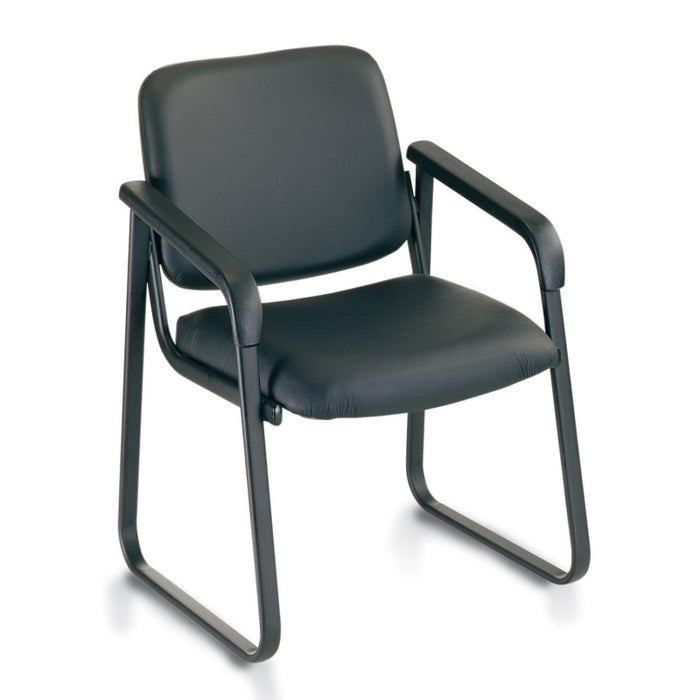Ashton Antimicrobial Vinyl Guest Chair - Duckys Office Furniture