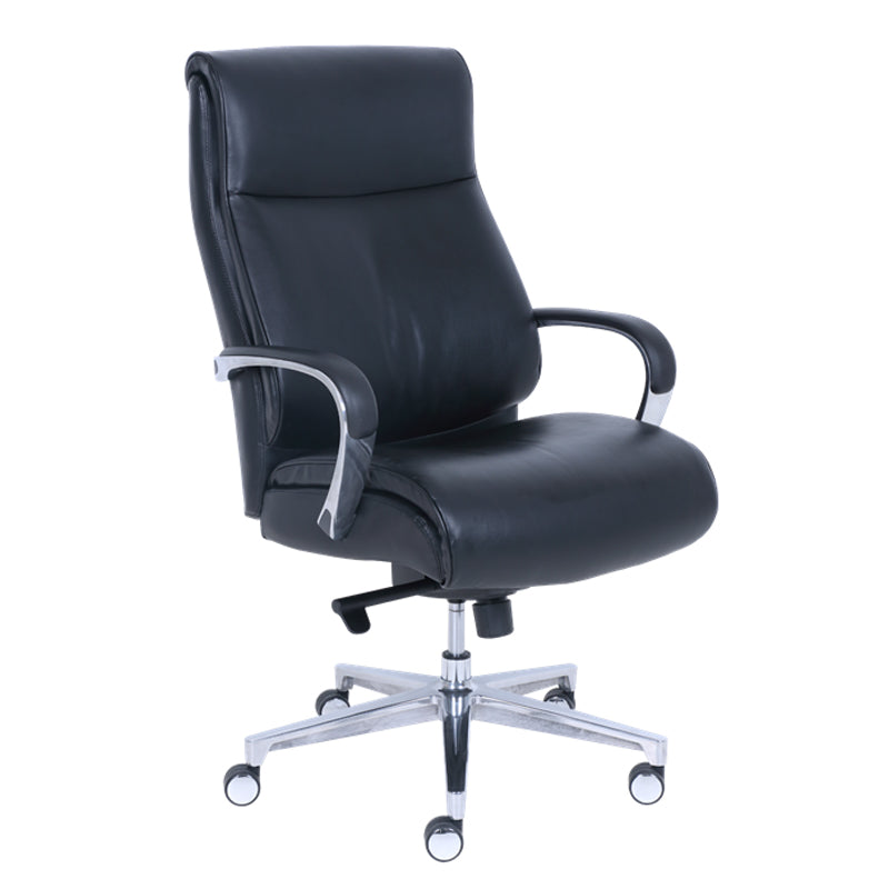 Performance - La-Z-Boy Big & Tall Leather Executive Chair - Duckys Office Furniture