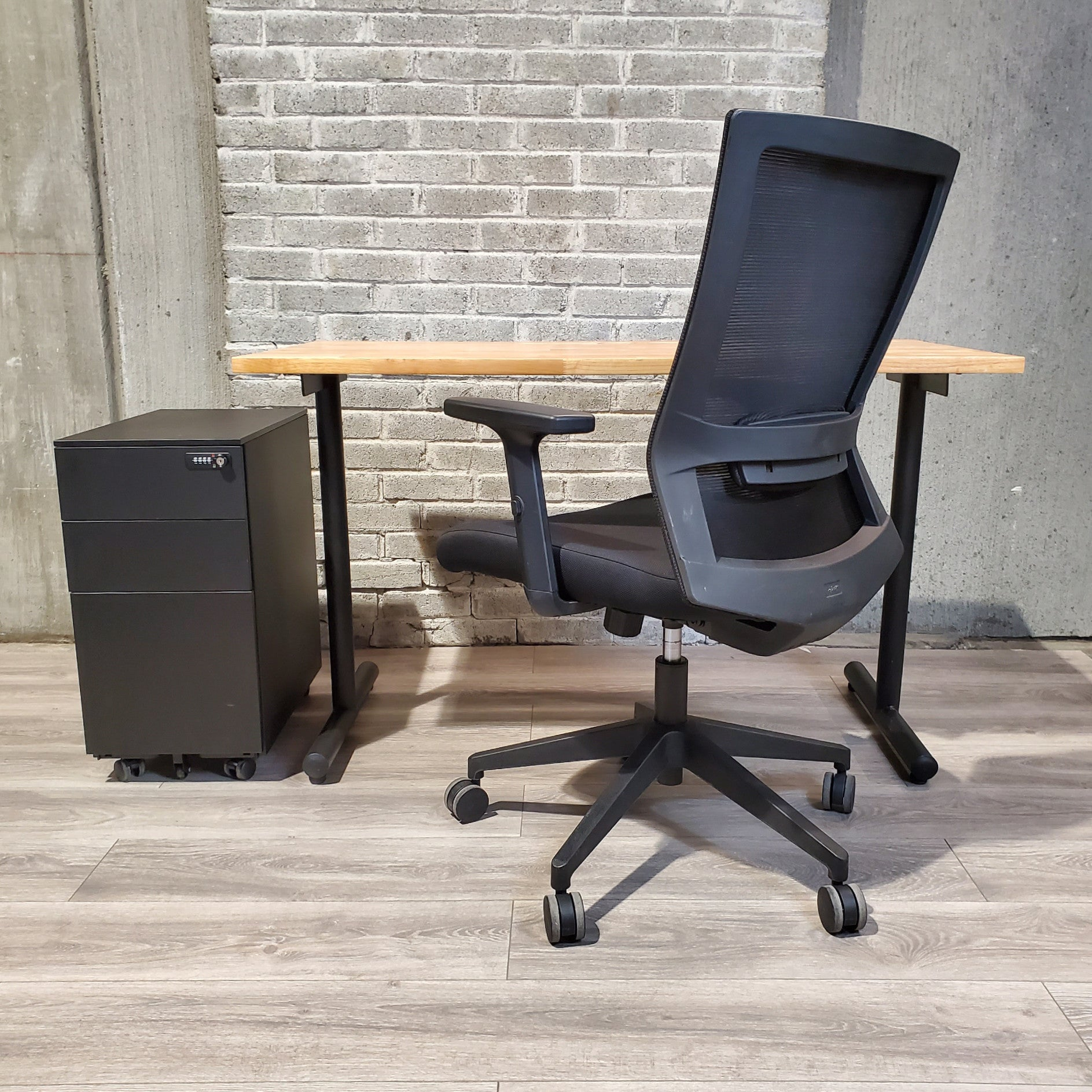 Used 24x48 Desk Chair Pedestal Drawer Combo Deal - Duckys Office Furniture