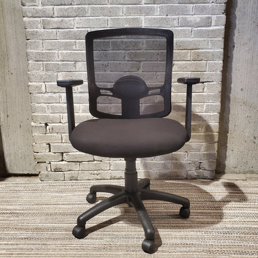 USED ERGOMIC MESH BACK TASK CHAIR (DEAN) - Duckys Office Furniture