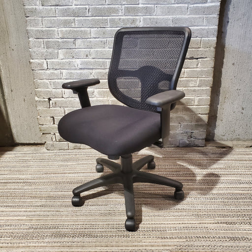 USED ERGOMIC MESH BACK TASK CHAIR (EDDIE) - Duckys Office Furniture