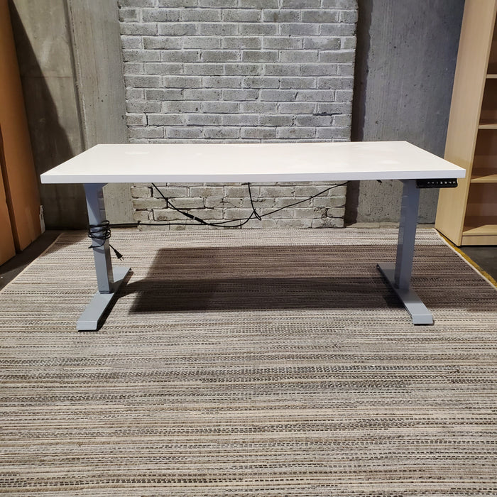 Used Electric Height Adjustable Standing Desk 29x58 (Gabbie) - Duckys Office Furniture
