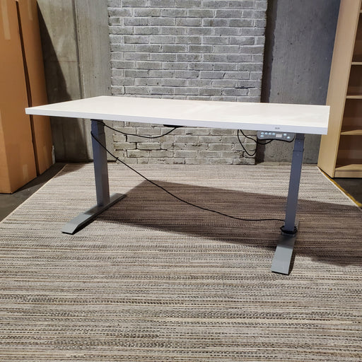 Used Electric Height Adjustable Standing Desk 29x58 (Haley) - Duckys Office Furniture