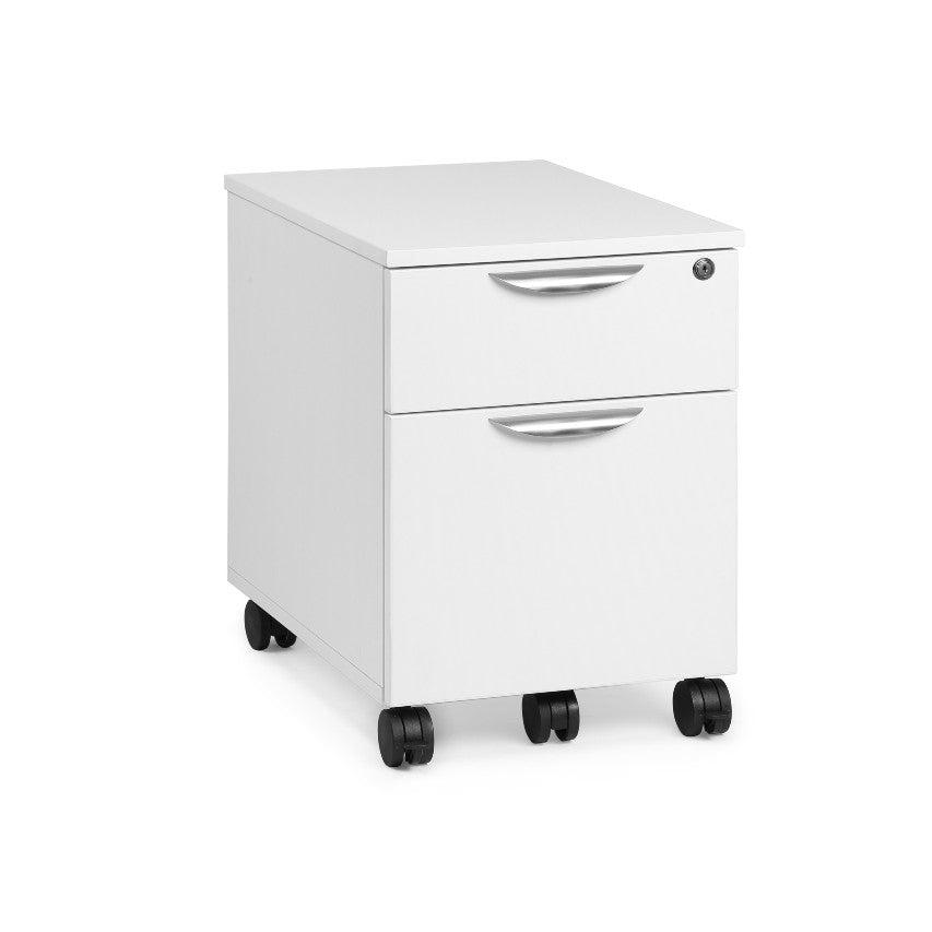 Performance - Mobile Low Drawer Pedestal File - Laminate - Duckys Office Furniture