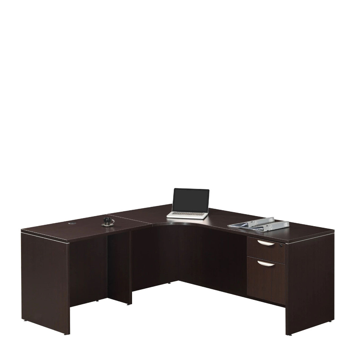 Performance - Corner L Desk with Inner Curve 6' X 6' - Duckys Office Furniture