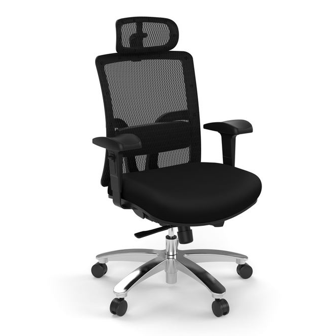 Performance - Trillian Series Big & Tall Executive Chair w/Headrest - Duckys Office Furniture