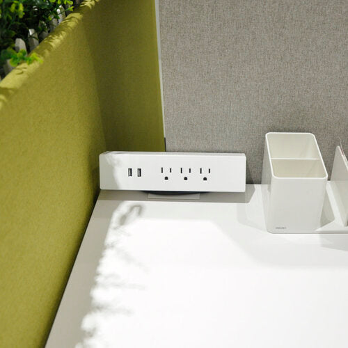 Desktop Power for Height Adjustable Desks - Duckys Office Furniture