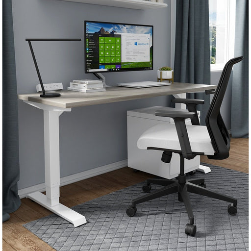 Quickship Titan Premium Adjustable Standing Desk Set