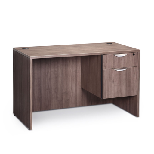 Small Single Pedestal Laminate Desk - Duckys Office Furniture