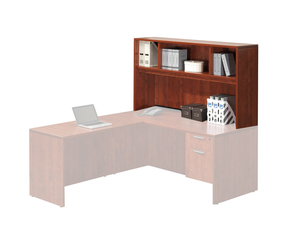 Performance - Add-On Performance Classic Laminate Open Hutch - Duckys Office Furniture