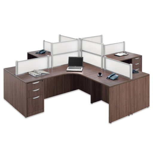 Borders Desk Mounted Privacy - Duckys Office Furniture