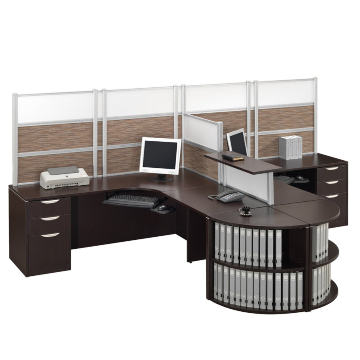 Performance - Borders Desk Mounted Privacy - Duckys Office Furniture