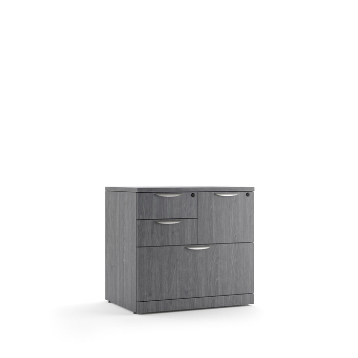 Combination Laminate Lateral File with Removable Top - Duckys Office Furniture
