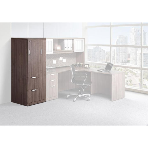 Combination Laminate Tower with Wardrobe - Duckys Office Furniture