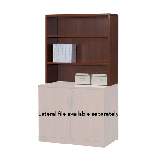 "Laminate Hutch Accessory 36""W - Duckys Office Furniture"