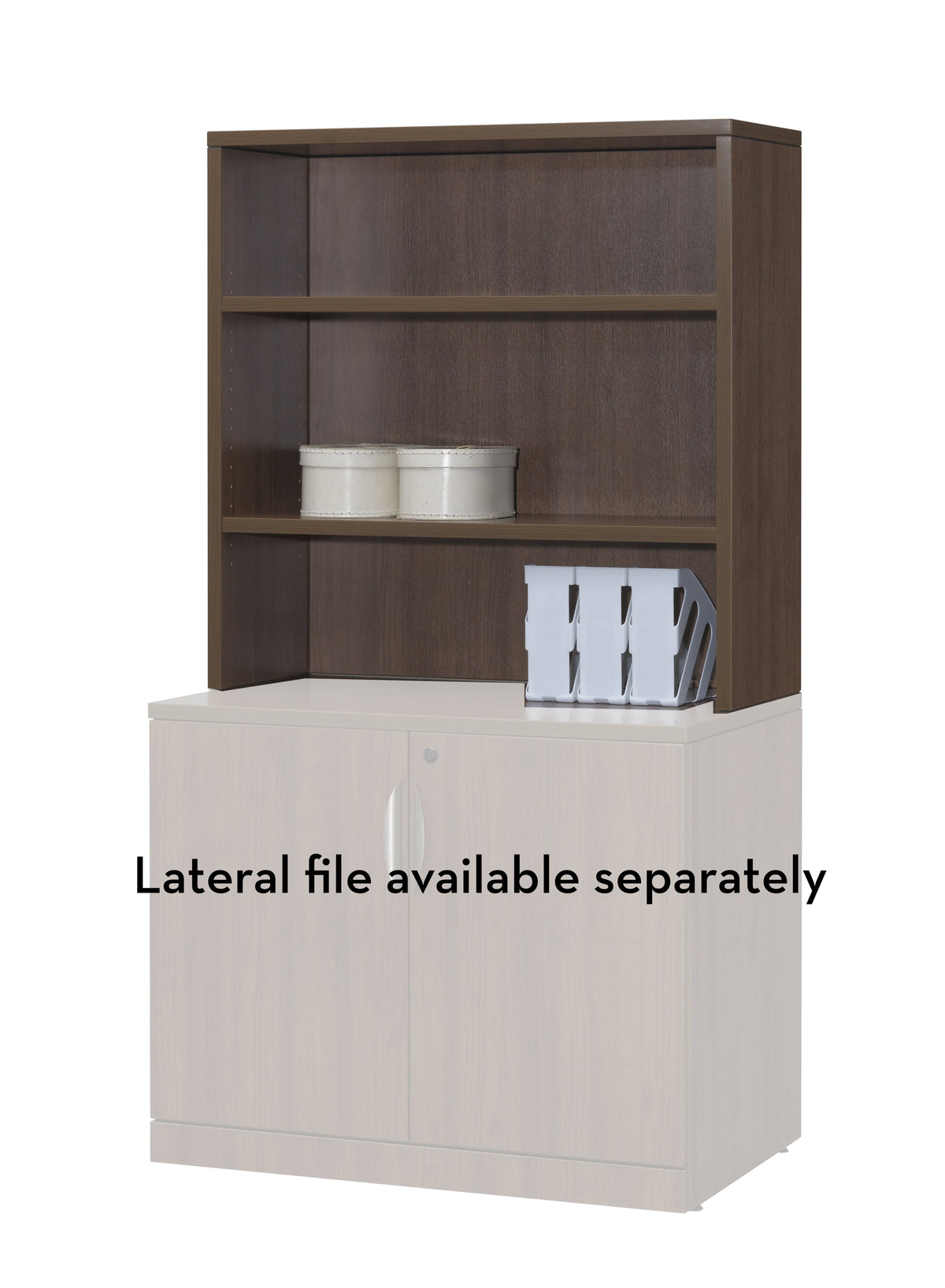 "Performance - Laminate Hutch Accessory 36""W - Duckys Office Furniture"